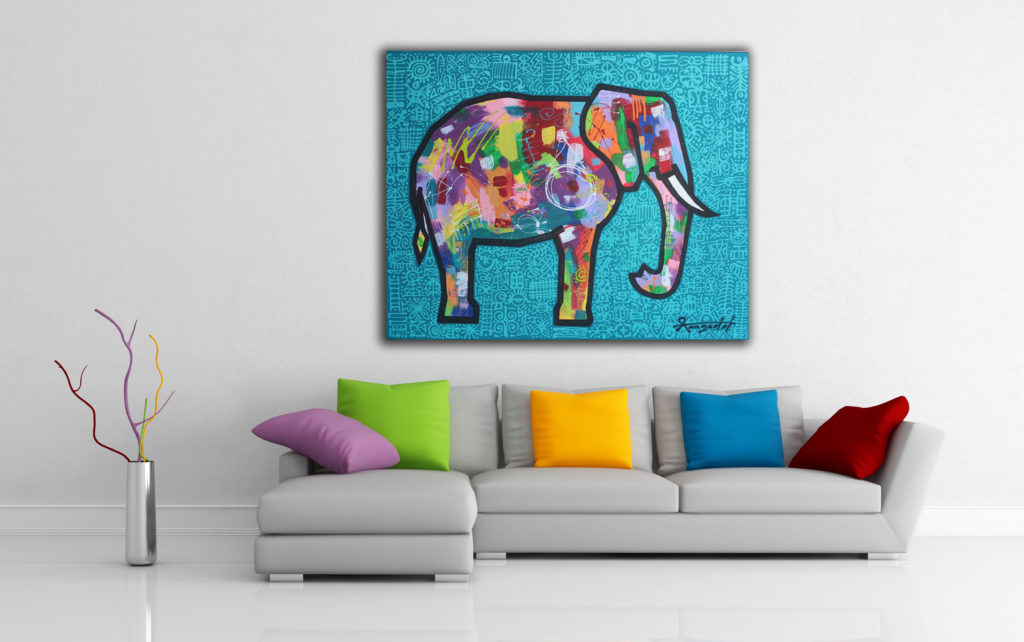 Elephant by Ann Gadd from Ann Gadd's Portfolio