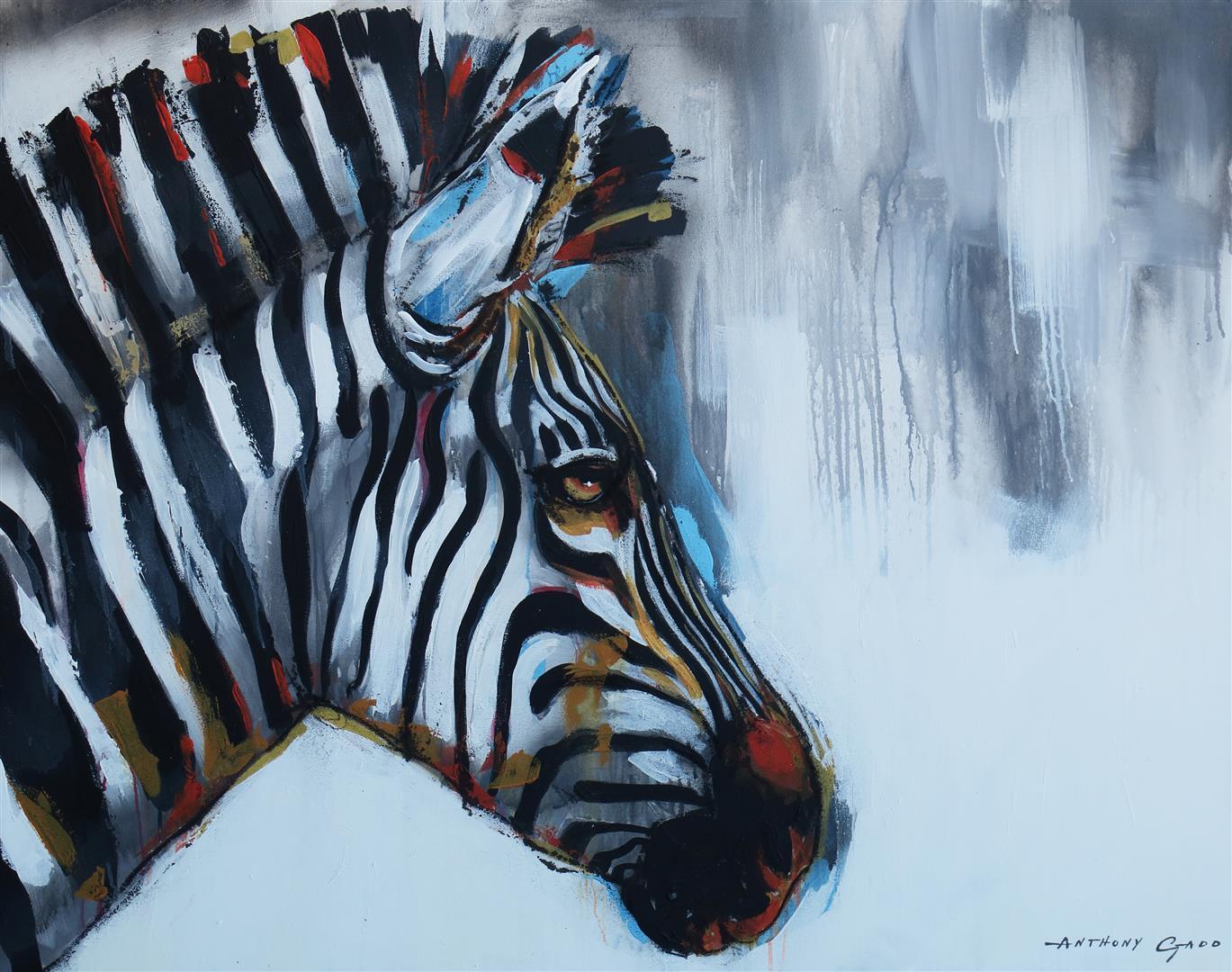 african wildlife art anthony gadd