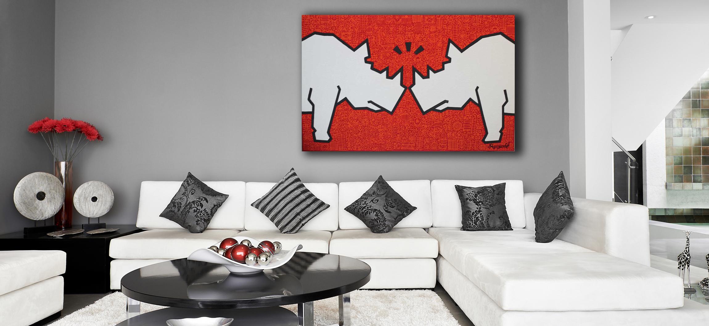 Rhinos by Ann Gadd